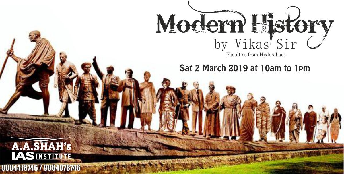 Modern History by Vikas Naidu