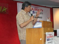 IAS Seminar by K Siddhartha