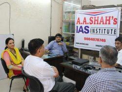 K Siddhartha at A A Shah's IAS