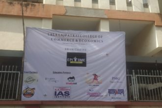 Event at Lala Lajpatrai College, Mumbai sponsored by A A Shah's IAS