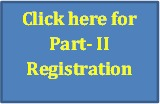 Prelims 2019 Part-II Registration